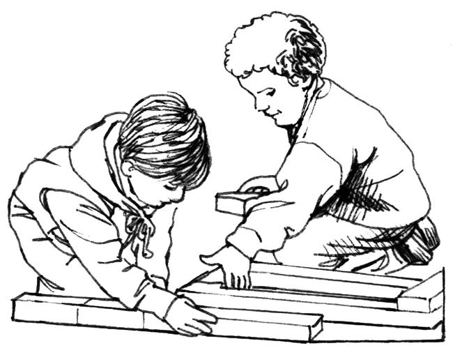 students working together coloring pages - photo#2